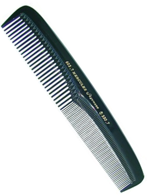 Hercules Hair Cutting Comb 603.7 zwart