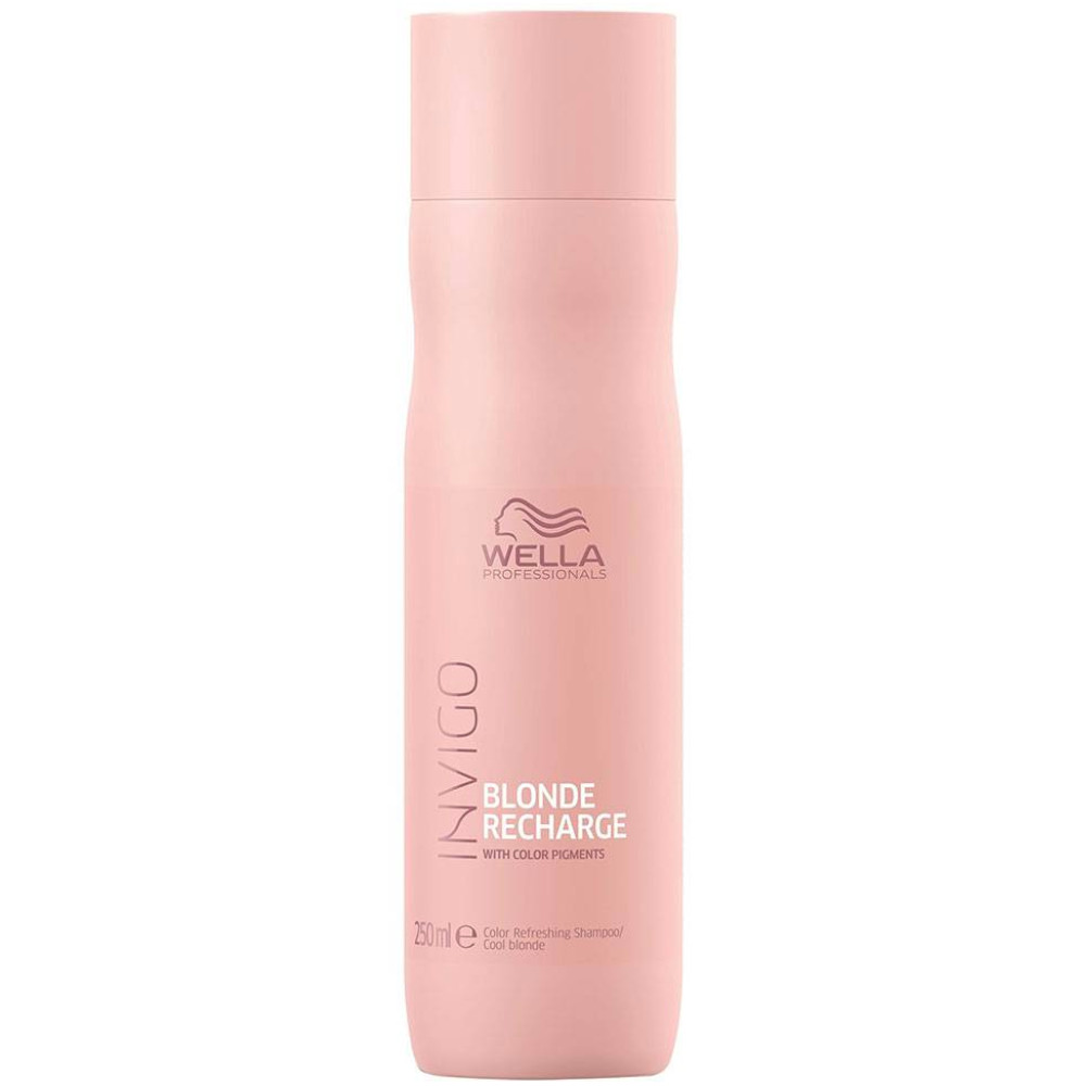 Wella Care Blonde Recharge Shampoo