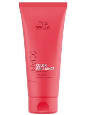 Wella Invigo Color Brilliance Conditioner Fine Normal Hair 200ml
