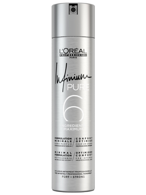 L'Oréal Infinium Pure 6 Hairspray Strong