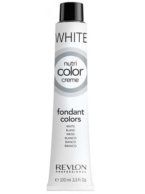 Revlon Professional Nutri Fondant Color Creme Tube White