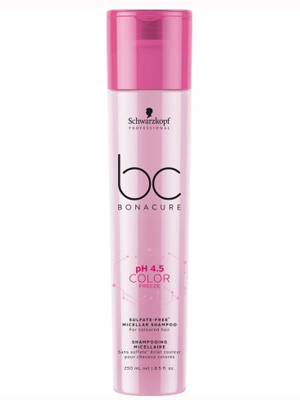 Schwarzkopf Bonacure pH 4.5 Color Freeze Sulfate Free Shampoo