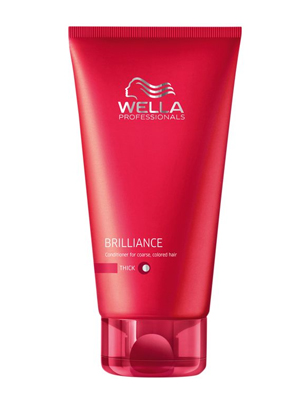 Wella Care Brilliance Conditioner Voor Dik Haar